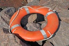 δαχτυλίδι διάσωσης Στοκ Φωτογραφίες