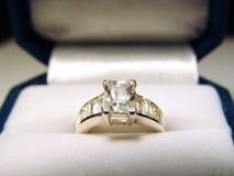 δαχτυλίδι διαμαντιών στοκ φωτογραφίες