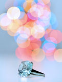 δαχτυλίδι διαμαντιών στοκ εικόνες