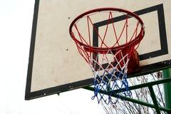 δαχτυλίδι καλαθοσφαίρισης στοκ εικόνα με δικαίωμα ελεύθερης χρήσης
