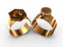 δαχτυλίδι καρυδιών μπου& Στοκ φωτογραφία με δικαίωμα ελεύθερης χρήσης