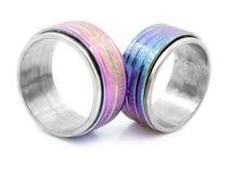 Δαχτυλίδι κοσμήματος - ανοξείδωτο Στοκ φωτογραφίες με δικαίωμα ελεύθερης χρήσης