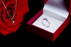 δαχτυλίδι περιδεραίων Στοκ εικόνα με δικαίωμα ελεύθερης χρήσης