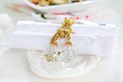 δαχτυλίδι πετσετών πετσ&eps στοκ εικόνα με δικαίωμα ελεύθερης χρήσης