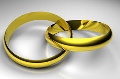 δαχτυλίδι που ενώνεται Στοκ φωτογραφία με δικαίωμα ελεύθερης χρήσης
