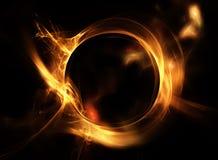 δαχτυλίδι πυρκαγιάς Στοκ Φωτογραφία