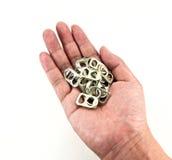 δαχτυλίδι τραβήγματος χ&eps Στοκ Εικόνα