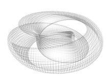 δαχτυλίδι mobius Στοκ φωτογραφία με δικαίωμα ελεύθερης χρήσης