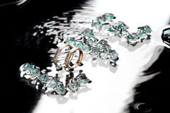 Δαχτυλίδια αγάπης Στοκ Εικόνες