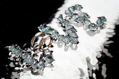 Δαχτυλίδια αγάπης Στοκ Φωτογραφίες