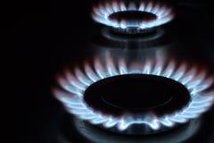 Δαχτυλίδια αερίου Στοκ εικόνες με δικαίωμα ελεύθερης χρήσης