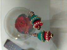 Δαχτυλίδια αυτιών Στοκ Φωτογραφία