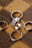 Δαχτυλίδια σκακιού Στοκ Εικόνα