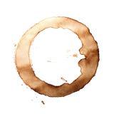 Δαχτυλίδια φλυτζανιών καφέ Στοκ εικόνα με δικαίωμα ελεύθερης χρήσης