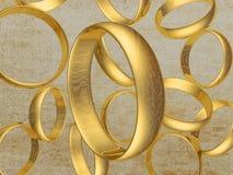 Δαχτυλίδια 1 1 στοκ εικόνα