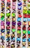 Δαχτυλίδια Murano και μικρά κοσμήματα Στοκ φωτογραφία με δικαίωμα ελεύθερης χρήσης