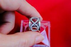 Δαχτυλίδι απείρου Στοκ Φωτογραφίες
