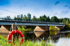 Δαχτυλίδι ζωής από τον ποταμό Στοκ εικόνες με δικαίωμα ελεύθερης χρήσης