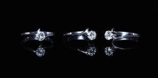 Δαχτυλίδι και πολύτιμος λίθος διαμαντιών κοσμημάτων Στοκ φωτογραφίες με δικαίωμα ελεύθερης χρήσης