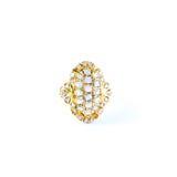 Δαχτυλίδι κοσμήματος Στοκ Εικόνα