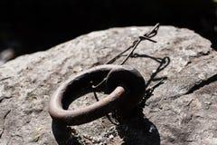 Δαχτυλίδι μετάλλων Στοκ φωτογραφία με δικαίωμα ελεύθερης χρήσης