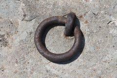 Δαχτυλίδι μετάλλων Στοκ Φωτογραφία