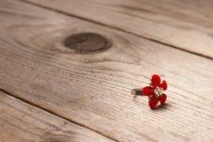 Δαχτυλίδι λουλουδιών Στοκ Εικόνες