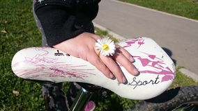 Δαχτυλίδι λουλουδιών Στοκ εικόνα με δικαίωμα ελεύθερης χρήσης