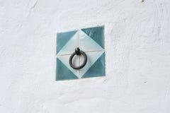 Δαχτυλίδι στον τοίχο Στοκ Φωτογραφίες