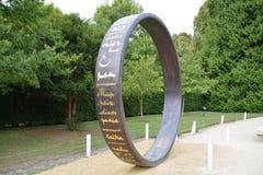 Δαχτυλίδι της ειρήνης στοκ φωτογραφίες με δικαίωμα ελεύθερης χρήσης