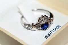 Δαχτυλίδι Claddagh Στοκ Εικόνες
