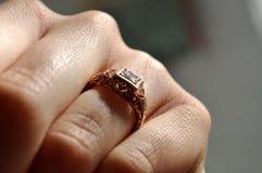 Δαχτυλίδι Edwardian Στοκ εικόνα με δικαίωμα ελεύθερης χρήσης