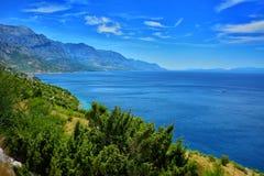 Δαλματική ακτή Κροατία Στοκ εικόνες με δικαίωμα ελεύθερης χρήσης