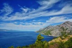 Δαλματική ακτή Κροατία Στοκ Φωτογραφίες