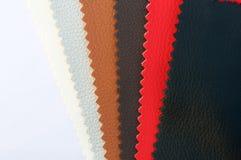 δείγματα δέρματος χρώματ&omicron Στοκ Φωτογραφίες