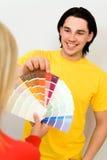 δείγματα ζευγών χρώματος Στοκ Εικόνα