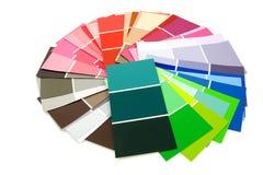 δείγματα ζωγραφικής χρώμα Στοκ φωτογραφία με δικαίωμα ελεύθερης χρήσης