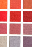 δείγματα σειράς χρώματος  Στοκ Εικόνες