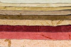 Δείγματα των υφασμάτων επίπλων στοκ φωτογραφία με δικαίωμα ελεύθερης χρήσης