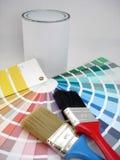 δείγματα χρωμάτων στοκ εικόνα με δικαίωμα ελεύθερης χρήσης