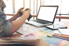 Δείγματα χρώματος, διάγραμμα χρώματος, swatch δείγμα, γραφικό bei σχεδιαστών Στοκ φωτογραφία με δικαίωμα ελεύθερης χρήσης