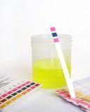 δείγμα ανάλυσης pH Στοκ Φωτογραφία