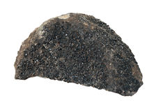 Πέτρινος-ορυκτό Granat (andradite) Στοκ Εικόνες