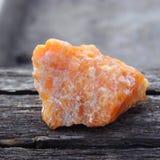 Δείγμα πορτοκαλί calcite Στοκ φωτογραφία με δικαίωμα ελεύθερης χρήσης