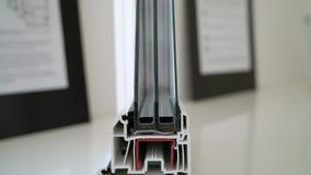 Δείγμα του σχεδιαγράμματος παραθύρων στο windowsill φιλμ μικρού μήκους