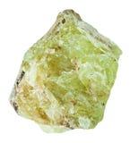 Δείγμα apatite στροντίου Saamit της πέτρας Στοκ εικόνα με δικαίωμα ελεύθερης χρήσης