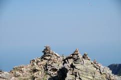 Δείκτες βουνών Στοκ φωτογραφίες με δικαίωμα ελεύθερης χρήσης