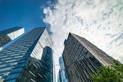 Δείκτης νοημοσύνης-τέταρτος — πολυσύνθετος σύνθετος που βρίσκεται στο 11ο τμήμα του διεθνούς εμπορικού κέντρου της Μόσχας στοκ φωτογραφία