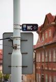 Δείκτης, οδικό σημάδι Στοκ Εικόνα