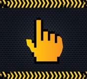 Δείκτης χεριών Στοκ φωτογραφίες με δικαίωμα ελεύθερης χρήσης